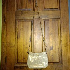 Coach Ashley Gold Metallic Shimmer Crossbody Bag